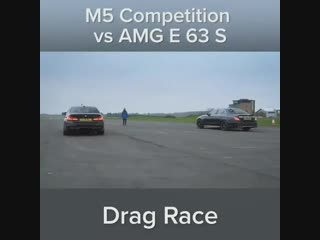 BMW M5 Competition vs AMG E 63 S