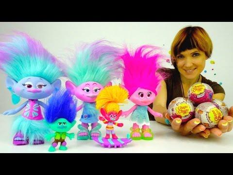 Мультик ТРОЛЛИ детский сад с игрушками из мультфильма Тролли