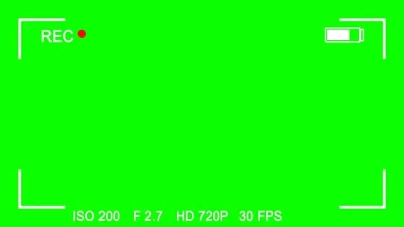 Самые популярные футажи На зеленом фоне КАМЕРА.mp4