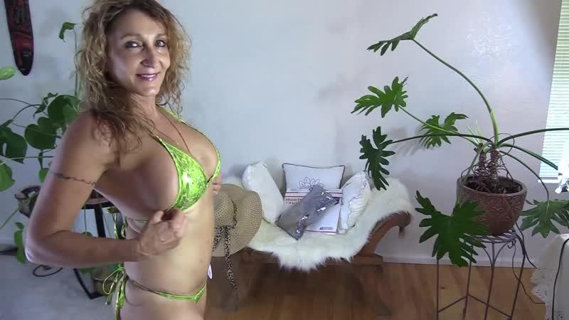 Bikini MILF Mom 55 Bikini Thong Haul