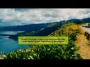 19 Azores Portugal Азорские острова Lagoa das Sete Cidades lake seen behind green vegetation in Sao Miguel