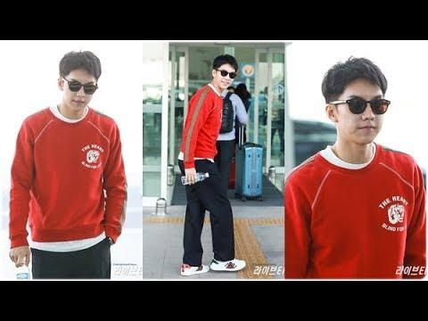 18.04.21 Lee Seung Gi Incheon Airport Press Video