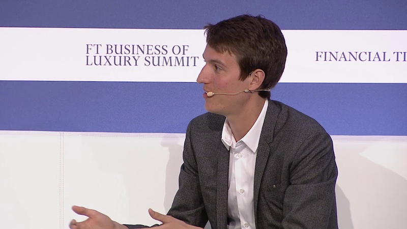 FT Business of Luxury Summit - Day 1 - Alexandre Arnault Jo Ellison
