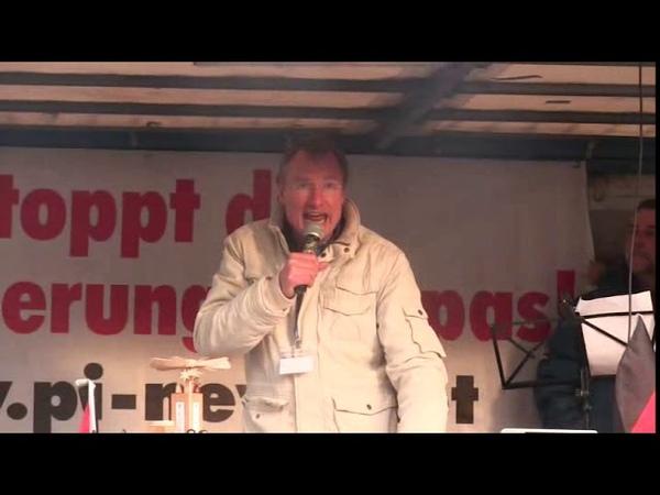 PEGIDA Dresden 5. Weihnachtssingen 16.12.2018 Phänomenale Rede von Michael Stürzenberger.