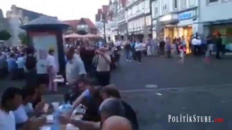 Deutschland 2018 - Stadthagen - eine Islamisierung findet nicht statt --