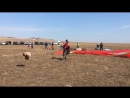 На соревнованиях Иркутской области по параплану