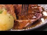 Утка в духовке с красной капустой и клецками | Больше рецептов в группе Кулинарные Рецепты