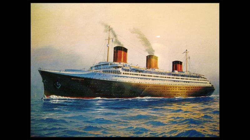 NORMANDIE L'ultimo viaggio 1939