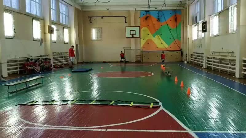 ДФШ Чемпион. Тренировка (7-9 лет)