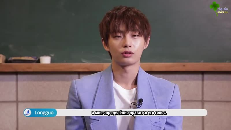 [RUS.SUB] (Pops in Seoul) Из благодарности к моим фанатам! Интервью от Ёнгука о CLOVER ❤