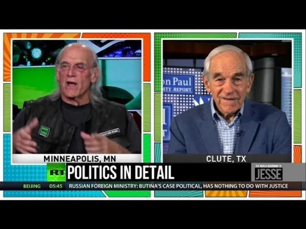 RIP Bush, Yellow Vest Revolt Ron Paul