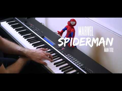 Spiderman PS4 Main Title Piano Cover