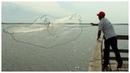 Кастинговая рыболовная сеть с большим кольцом купить
