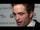 KVIFF Robert Pattinson about low-budget films.