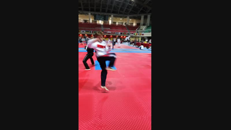 Школа Тхэквондо Держава - Разминка на чемпионате Мира 2018 (Тайвань г. Тайбей )