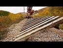 印度的火車軌道是如何更換的?看完後簡直是大開眼界了