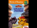 Disney's THE LION GUARD UNLIKELY FRIENDS I Read Aloud Children's Storybook