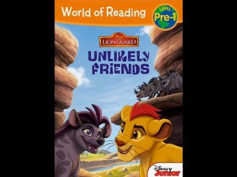 Disney's THE LION GUARD UNLIKELY FRIENDS I Read-Aloud Children's Storybook