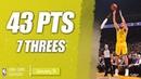 Klay Thompson By 4 Dribble | 43 PTS & 7 THREES | GSW vs NYK | 09.01.2019 | MH