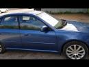 Subaru Legasy полная деформация кузова