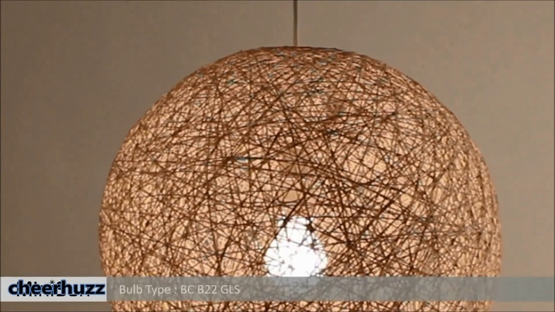 Rattan Chandelier Pendant Light - cheerhuzz