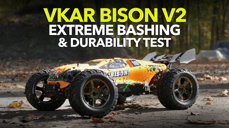 VKAR BISON V2 EXTREME BASHING DURABILITY TEST - Did it survive