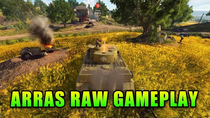 Arras Raw Gameplay - Battlefield 5 First Look