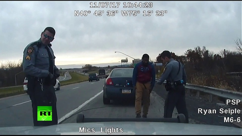 Pull over thriller Man shot at Pennsylvania police officers badly injuring one