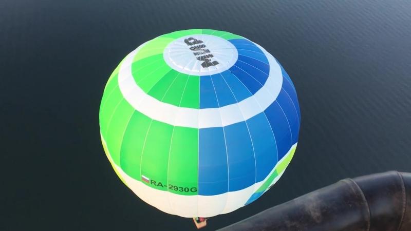 Полёт над Воронежем на воздушном шаре Радио МИР