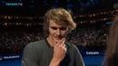 Zverev vs Federer: ball kid crowd drama   Nitto ATP Finals 2018 Semi-Final
