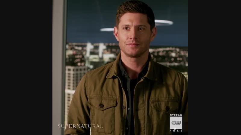 "Supernatural on Instagram_ ""Hes back. Stream the midseason finale of Supernatu"