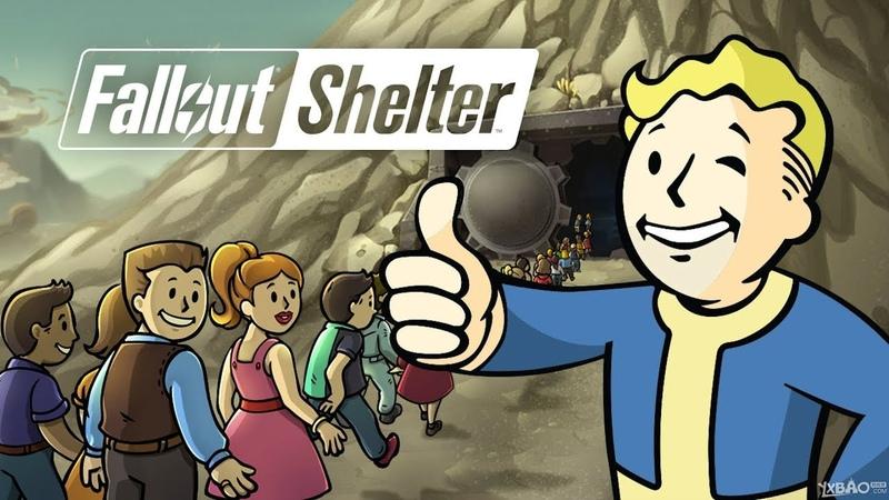 Fallout Shelter Создал убежище в пост апокалипсисе