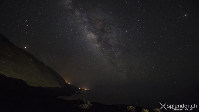 La Palma Timelapse Roque de los Muchachos Nature and Night Sky Milky Way HD