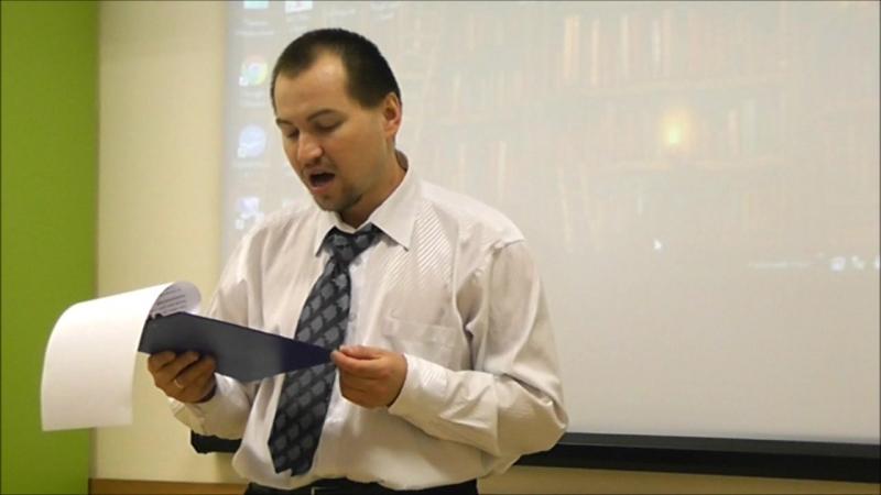 Михаил Давыдов (г. Сосновый Бор) читает стихи классиков о животных и птицах