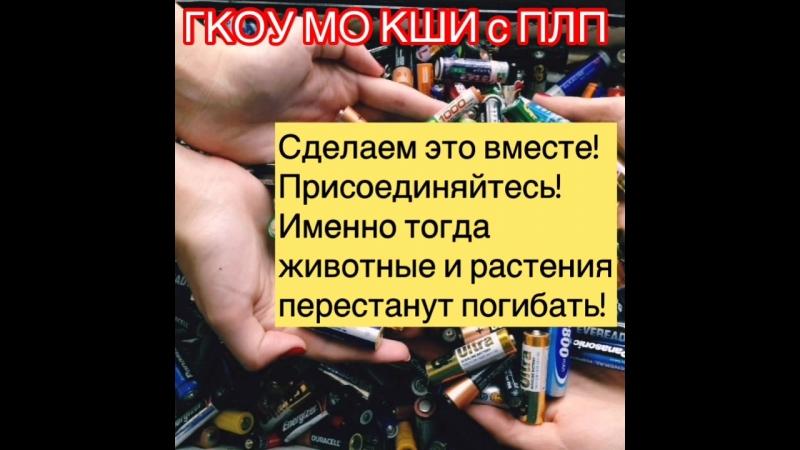 Акция Сдай батарейку-спаси планету