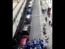 Жестокое столкновение фанатов Ювентуса и Наполи перед матчем