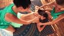 Love Touch Massage Terrace. Goa. Arambol. Cliff side.
