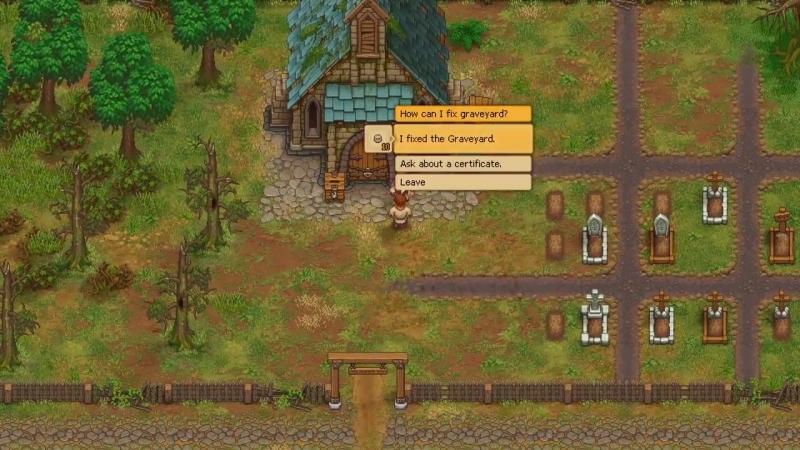Дебютный геймплейный трейлер игры Graveyard Keeper!