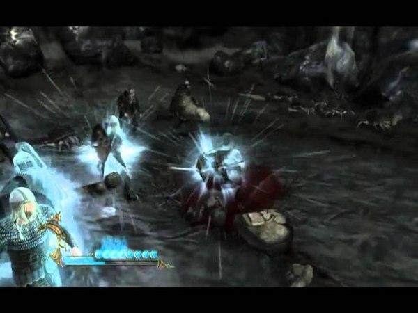 Геймплей игры Beowulf The Game Беовульф Игра