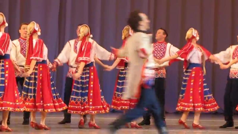 Ансамбль танца Сибири имени М. Годенко. 15 декабря 2017 г.