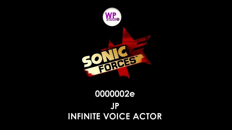 Sonic Forces Full Infinite Voice Actor JPN (MainDLC)