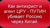 Выборы. Грудинин. Путин убивает Россию через Китай