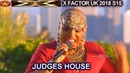 Janice Robinson original song Love Is In the Atmosphere The Overs Judges House X Factor UK 2018