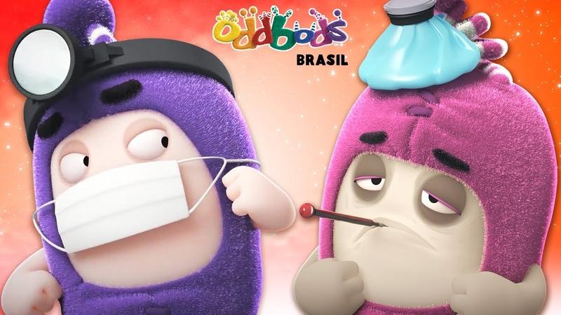 Desenho Oddbods Doutor Estranho Mini Filme Animado Desenhos Animados Divertidos