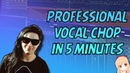 HOW TO MAKE VOCAL CHOPS LIKE THE PROS | FL STUDIO TUTORIAL