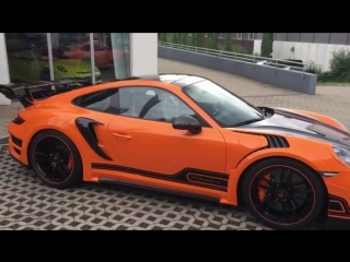 What do you think about this Porsche GT Street R spec? 🎥 @techart_germany