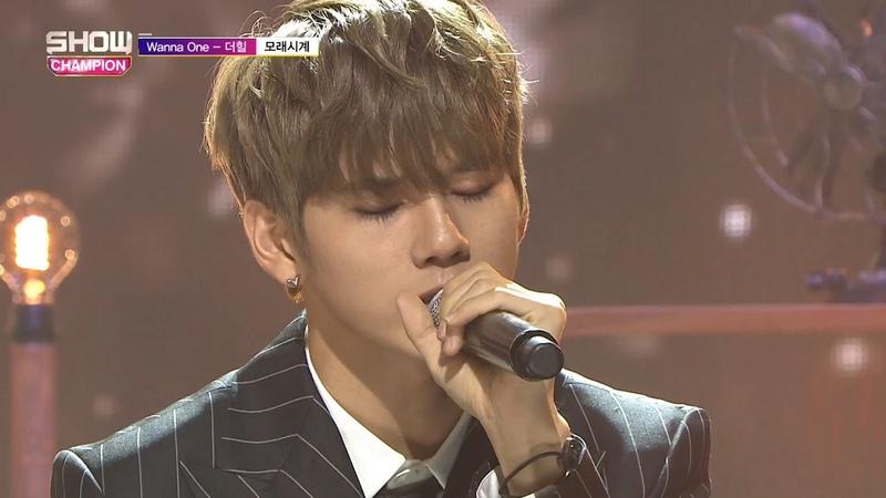 Show Champion EP 273 Wanna One The Heal Sandglass