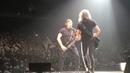 Metallica Rob and Kirk Guitar and Bass Solo 10-16-2018 Milwaukee, WI