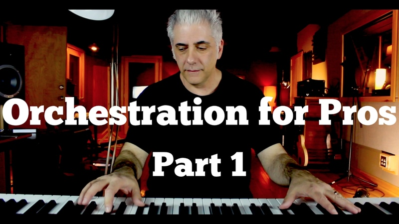 Orchestration for Pros How To Score Music For Film Part 1
