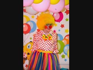 День Рождения Ксении 4 года в детском саду